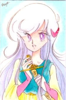 年賀状に描いた 銀シャム猫の みゃあちゃんです